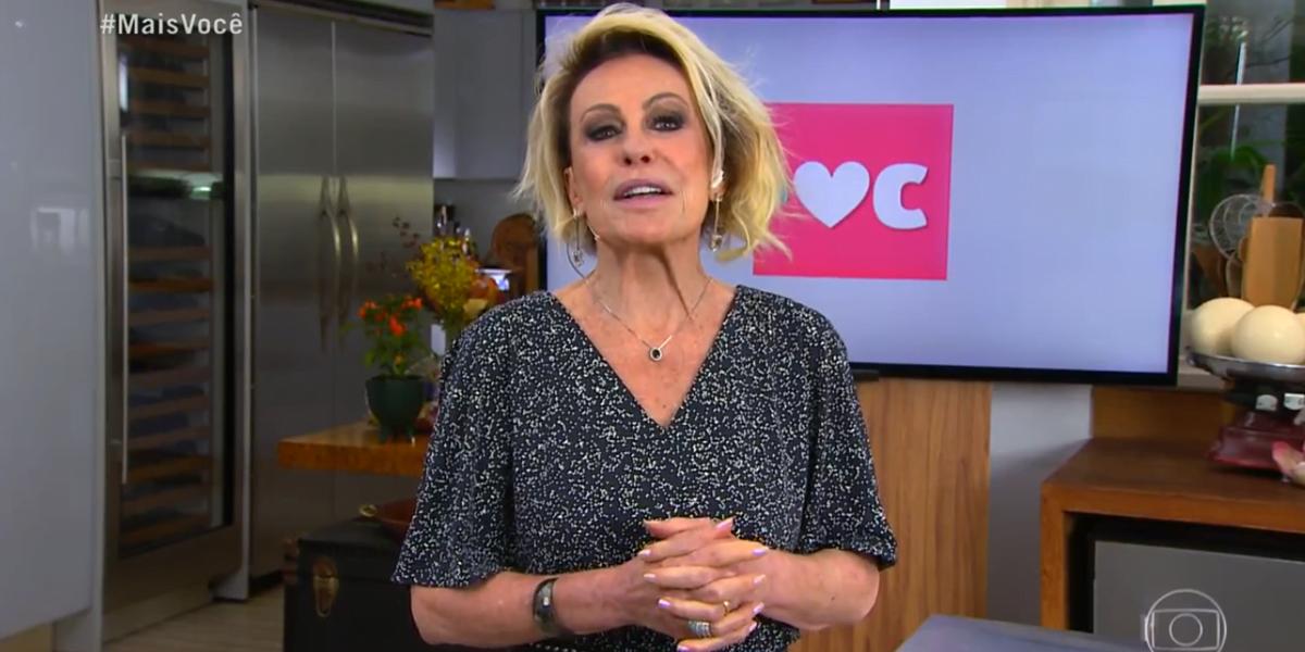 Ana Maria Braga no comando do Mais Você (Foto: Reprodução/Globo)