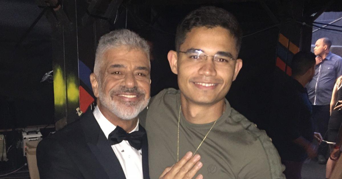 Lulu Santos e seu marido (Foto: Reprodução)