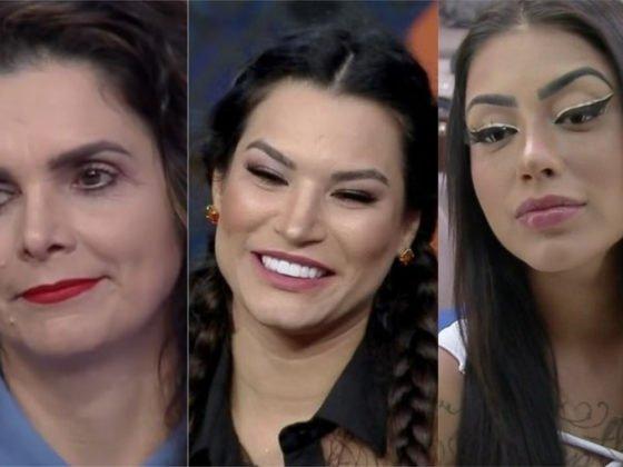 Luiza, Raissa e Mirella voltarão para A Fazenda 12 (Foto: Divulgação)